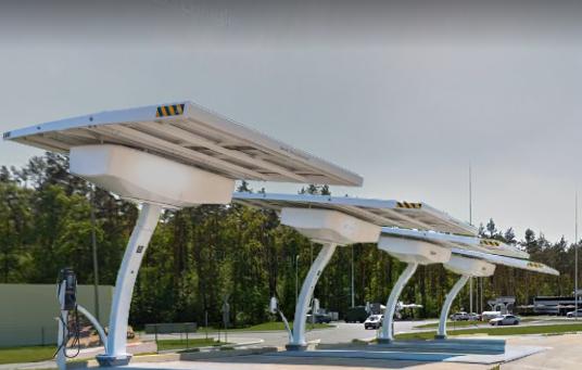 Автономно-гібридні зарядні станції електромобілів