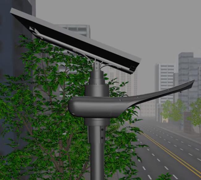 Автономне освітлення на сонячних панелях (батареях)