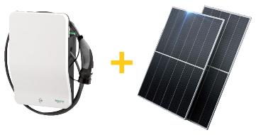Домашняя зарядная станция электромобилей на солнечных батареях