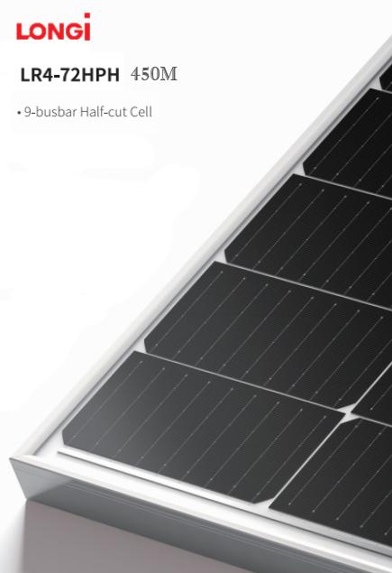 Монокристалічна сонячна батарея LONGi Solar LR4-72HPH-450M